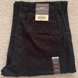 NWT Men's Black Chinos
